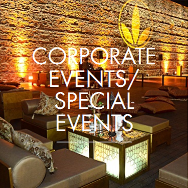 CORPORATE EVENTS SPECIAL EVENTS